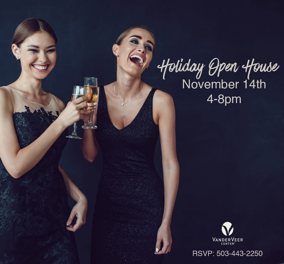 This holiday season, give yourself the gift of a better you. Join us for our Holiday Open House!